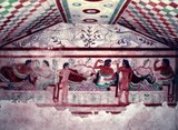 Tarquinia Tomb of the Leopards (wikimedia) Dimova 960px