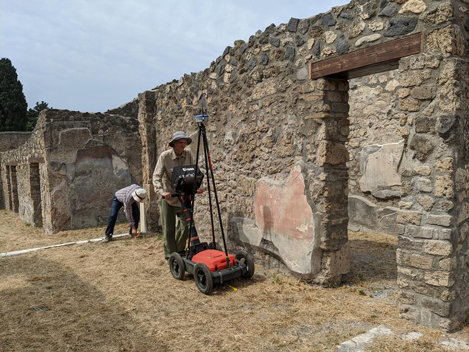 Georadar Pompeii
