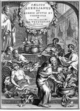 x Caelius Aurelianus; herbs given to the sick Wellcome L0002099 960px