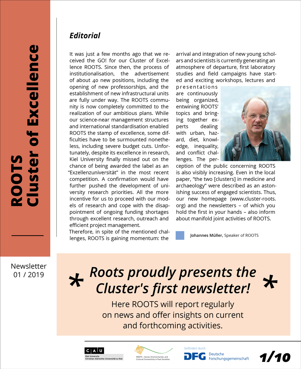 ROOTS Newsletter 01/2019