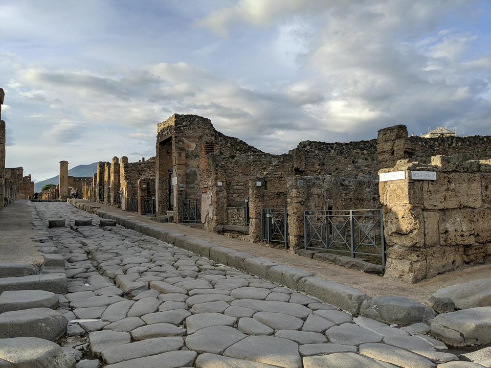 ROOTS in Pompeji