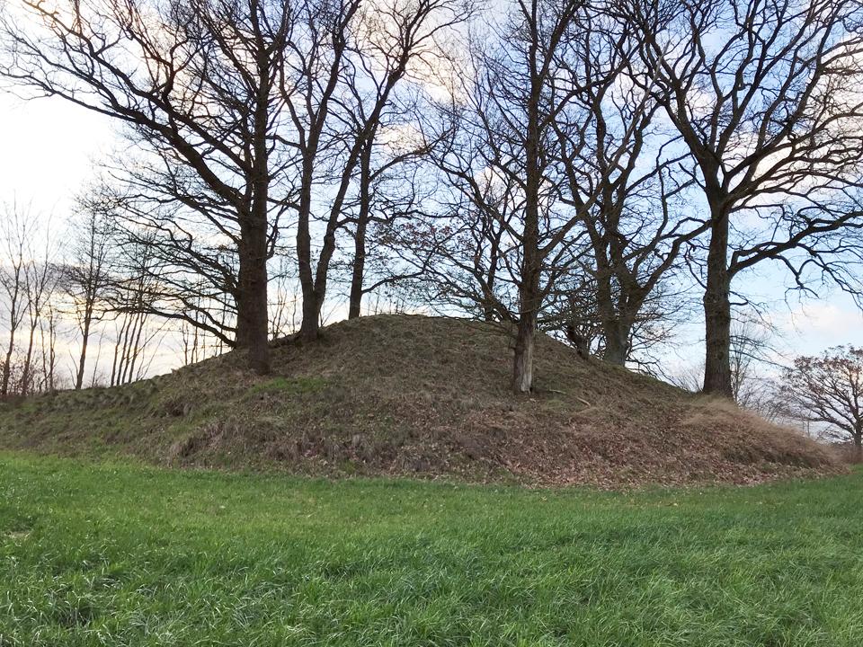 Burial Mound in Schmalensee